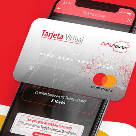 ¿Quiere comprar? Hágalo con su tarjeta Virtual DaviPlata.