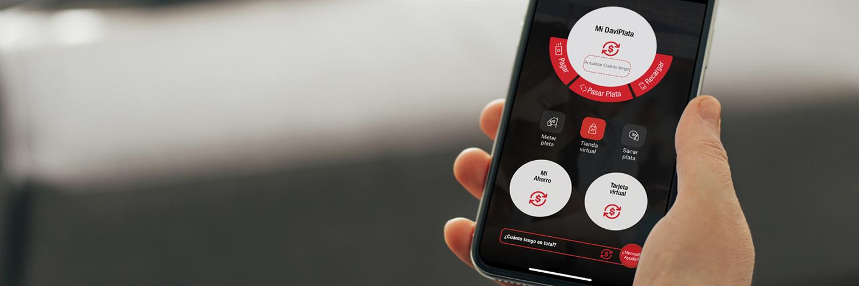 Viva la experiencia de la Banca Fácil descargando el App DaviPlata.